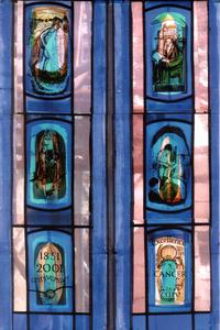 The six panes of the Royal Marsden windows