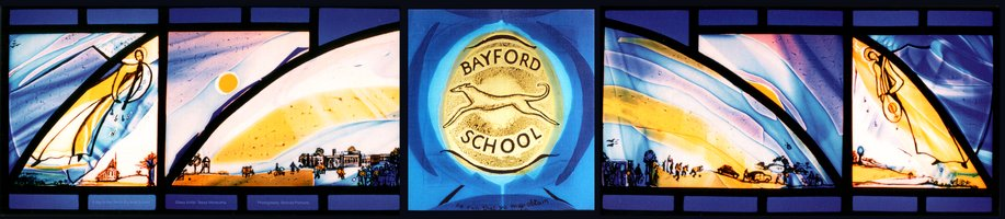 Bayford School window