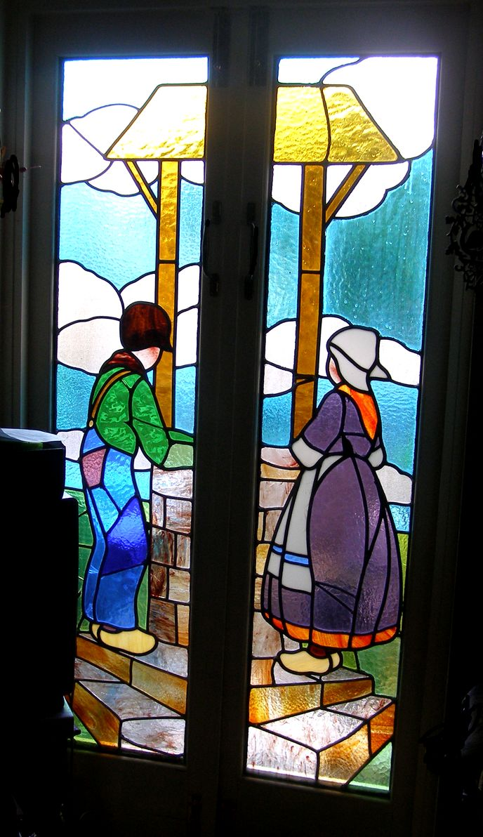 Art deco restoration tessa verrecchia fusing glass for Art glass windows